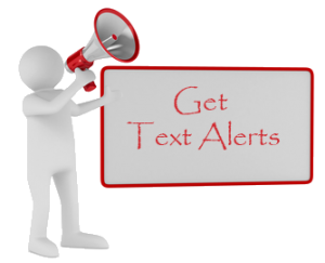 Get Text Alerts graphic