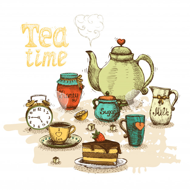 Alice In Wonderland Tea Party image