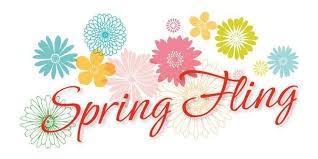 Spring Fling April 28th 3pm - 6pm
