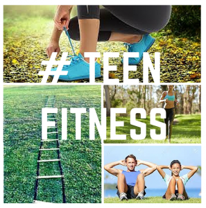 Teen Fitness Flyer