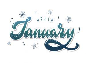 January Newsletter banner