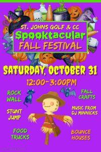 Fall Festival October 31 12-3pm