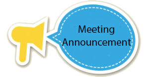 Meeting Announcement