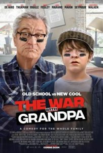 """Family Movie Night January 29th """"The War with Grandpa"""""""